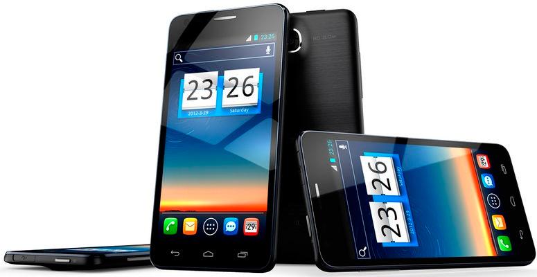 Самый тонкий смартфон в 2012 году - TCL S850