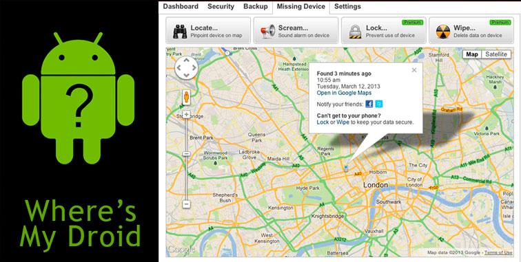 программа для определения местоположения телефона андроид