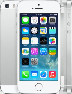 iPhone 5 Серебрянный